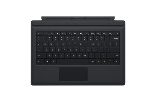 Clavier pour tablette Clavier Type Cover Noir pour Surface Pro 3 Microsoft