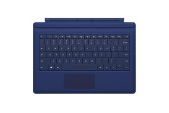 Clavier Clavier Type Cover Bleu pour Surface Pro 3 Microsoft