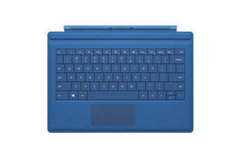 Clavier Clavier Type Cover Cyan pour Surface Pro 3 Microsoft