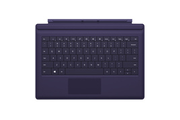 Microsoft Clavier Type Cover Violet pour Surface Pro 3