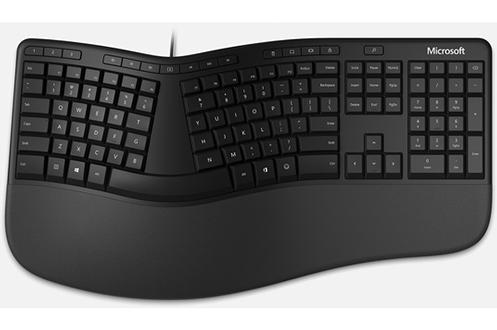Clavier Microsoft Ergonomic Keyboard – Noir