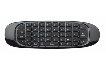 TRUST Wireless Keyboard & Air Mouse Récepteur micro USB - portée 10M for TV-PC-PS & Media Player Des