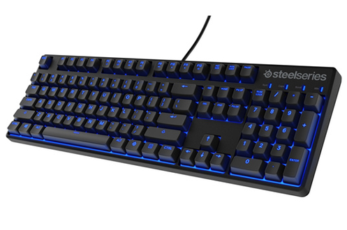 Touches interactives steelSeries 100% programmable compatible PC et MAC Design extra fin