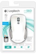 Logitech M560 Blanche