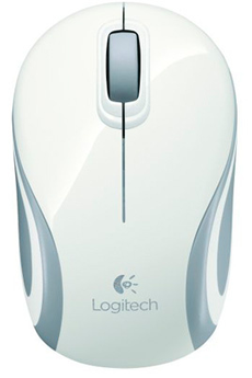 Souris Wireless Mini Mouse M187 WHITE Logitech