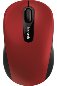 Souris BLUETOOTH MOBILE MOUSE 3600 RED Microsoft