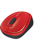 Microsoft WIRELESS MOBILE MOUSE 3500 FLAME RED GLOSS photo 3