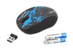 Trust Vivy Wireless Mini Mouse Blue Graffiti photo 2