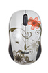 Trust Vivy Wireless Mini Mouse Grey Flowers photo 1