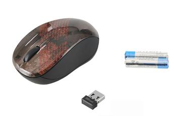Souris Vivy Wireless Mini Mouse Sanskrit Text Trust
