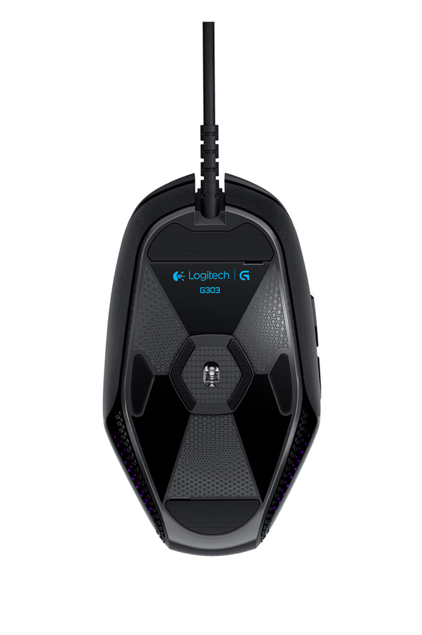 souris gamer logitech g303 daedalus apex performance edition gaming mouse 4141105 darty. Black Bedroom Furniture Sets. Home Design Ideas