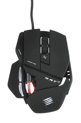 Souris gamer R.A.T.3 MATTE BLACK Mad Catz