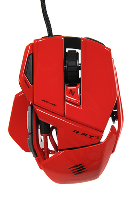 Souris gamer R.A.T 3 Rouge Mad Catz