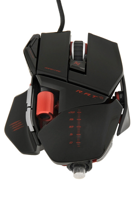 Mad Catz R.A.T 5 NOIR GLOSSY
