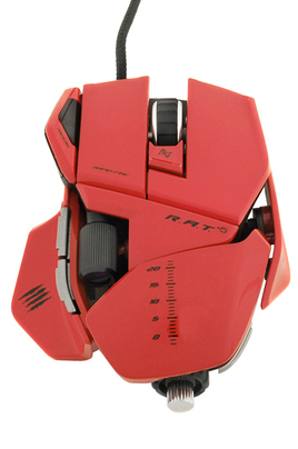 Mad Catz R.A.T 5 ROUGE GLOSSY