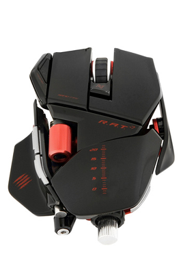 Mad Catz R.A.T 9 NOIR GLOSSY