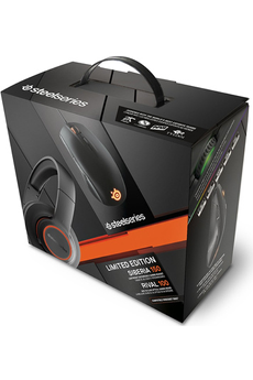 Souris gamer PACK GAMER SIBERIA 150 ET RIVAL 100 Steelseries