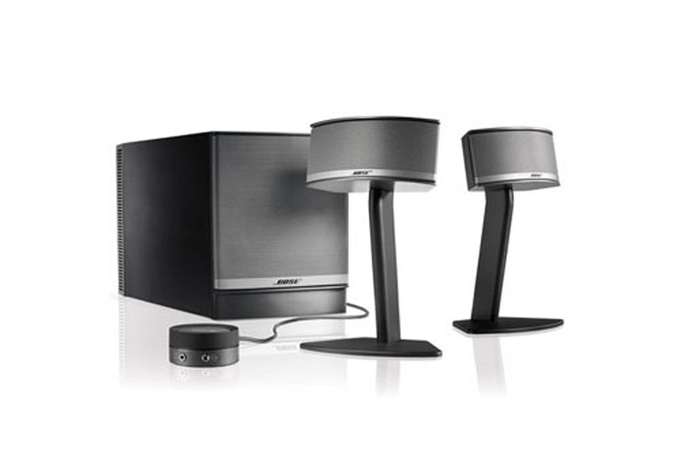 enceintes pour ordinateur portable bose. Black Bedroom Furniture Sets. Home Design Ideas