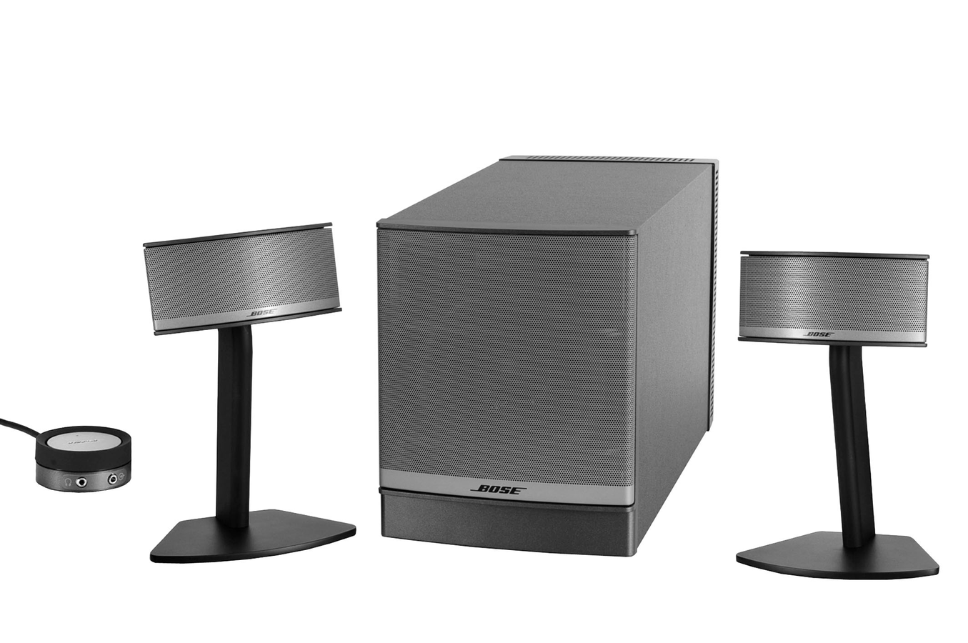enceinte pc bose companion 5 companion5 1256742 darty. Black Bedroom Furniture Sets. Home Design Ideas