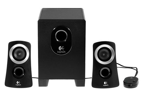 enceinte pc logitech z313 eu 1258362. Black Bedroom Furniture Sets. Home Design Ideas