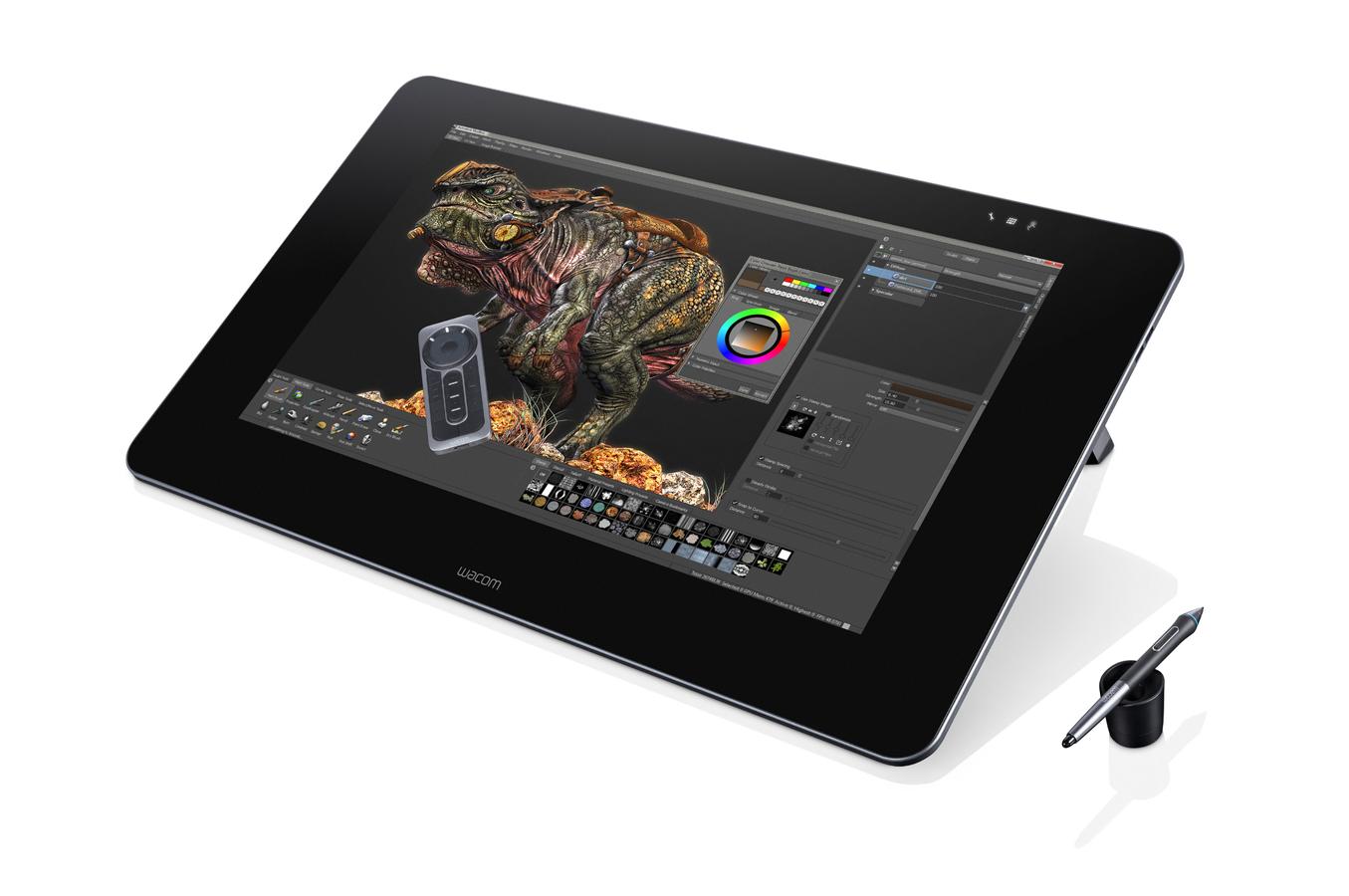 tablette graphique wacom cintiq27qhd pen only 4084403 darty. Black Bedroom Furniture Sets. Home Design Ideas