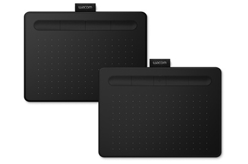 Tablette Wacom Intuos Noir avec Stylet Medium Bluetooth