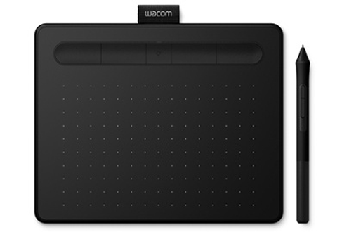 Wacom Tablette Intuos Noir avec Stylet Small Bluetooth