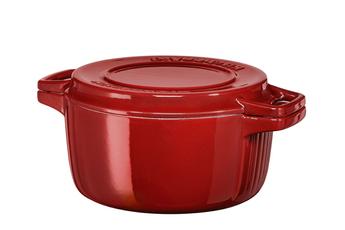 Cocotte / faitout / marmite COCOTTE FONTE ROUGE Kitchenaid