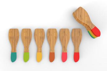 Accessoire de cuisine / cuisson SET SPATULES COULEURS A RACLETTE Pebbly