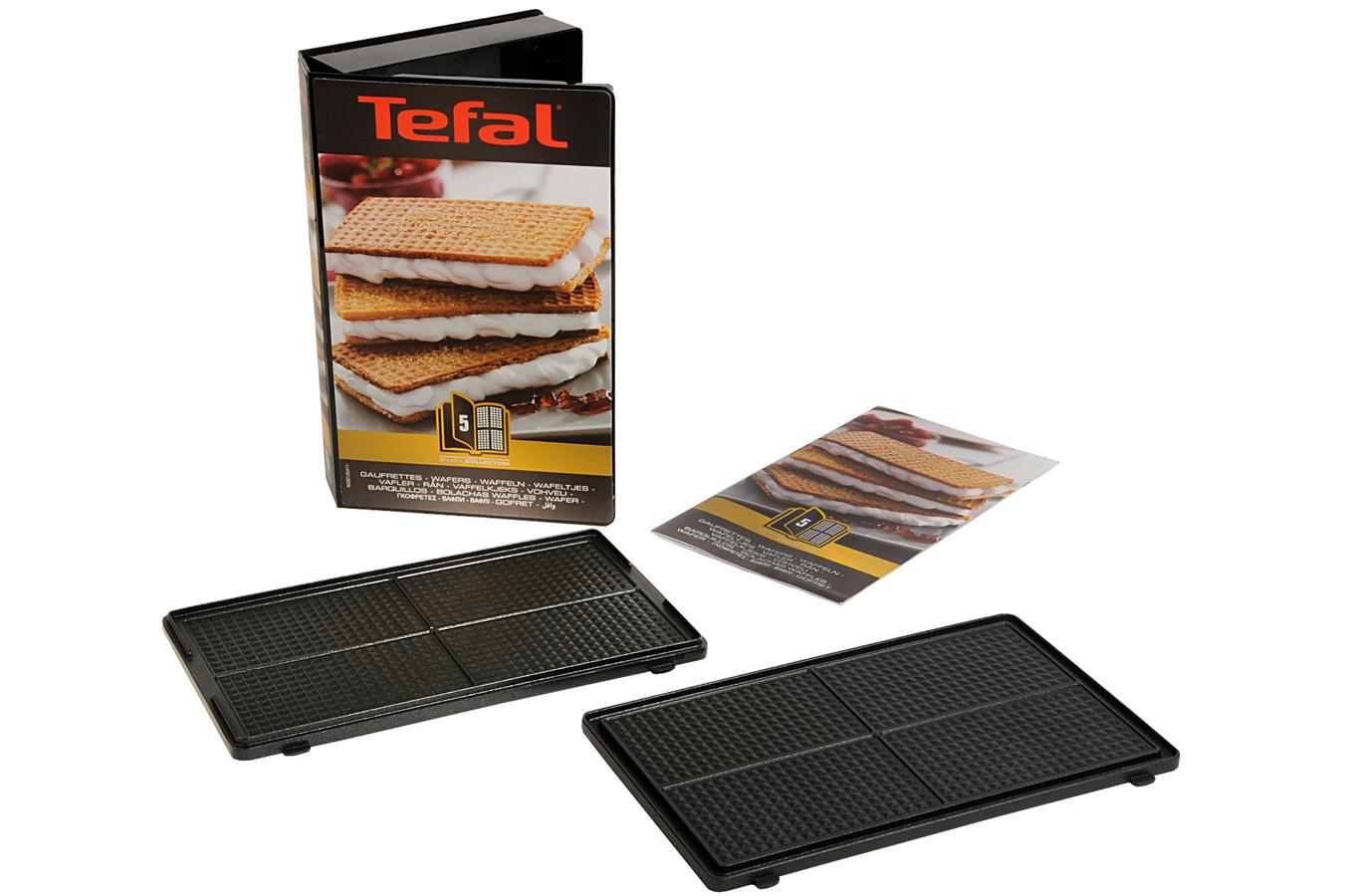 Accessoire de cuisine cuisson tefal coffret gaufrette for Appareil cuisson tefal