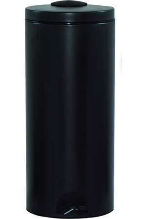 poubelle rossignol poubelle clickeo 30l gris manganese darty. Black Bedroom Furniture Sets. Home Design Ideas