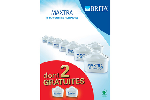 cartouche filtre eau brita maxtra 6 2 4070283. Black Bedroom Furniture Sets. Home Design Ideas