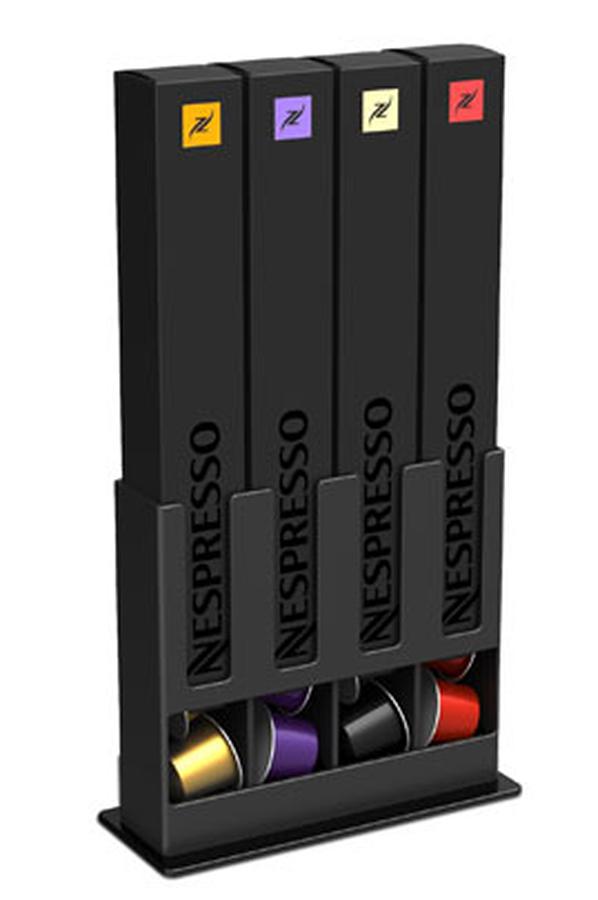 Porte capsules tavola swiss porte capsules box ii pcaps box ii 1273850 - Porte capsule nespresso mural ...