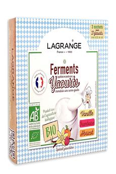 Accessoires yaourtière Lagrange Ferments pour yaourts aromatisés sans sucres ajoutés