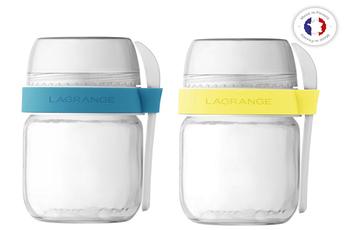 Accessoires yaourtière Lagrange Pots de yaourts à emporter