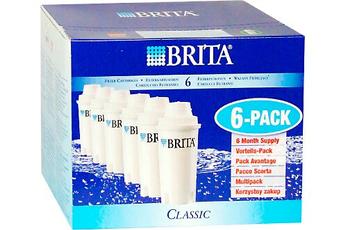 Cartouche filtre à eau CLASSIC X6 Brita