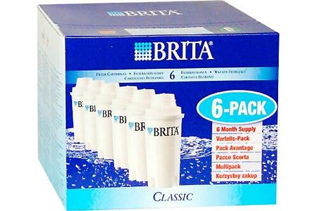 cartouche filtre eau brita classic x6 darty. Black Bedroom Furniture Sets. Home Design Ideas