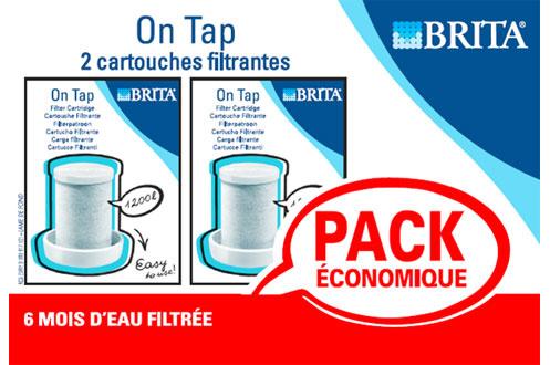 cartouche filtre eau brita ctche on tap x2 1212168. Black Bedroom Furniture Sets. Home Design Ideas