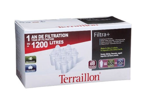 Cartouche filtre eau terraillon filtra x8 1212141 - Cartouche filtrante terraillon ...