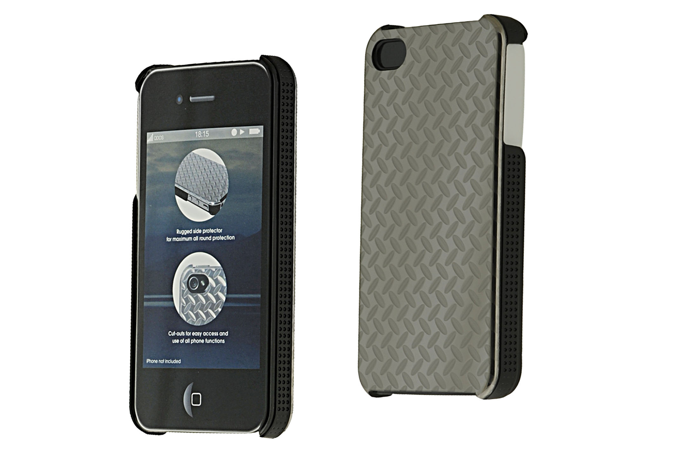 Housse pour iphone qdos housse steel iphone4 1301616 for Housse pour iphone