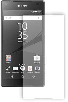 Protection d'écran pour smartphone FILM DE PROTECTION EN VERRE TREMPE POUR XPERIA Z5 COMPACT Bigben