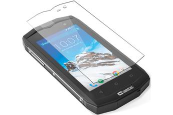Protection d'écran pour smartphone PROTECTION D'ECRAN EN VERRE TREMPE POUR CROSSCALL TREKKER M1 Crosscall