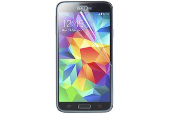 Protection d'écran pour smartphone Film verre trempé pour Galaxy S5 Muvit