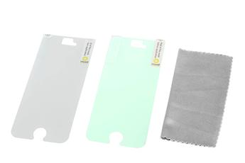 Protection d'écran pour smartphone 1 film miroir + 1 film secret pour iPhone 5/5S Muvit