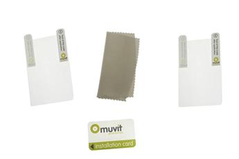 Protection d'écran pour smartphone Films de protection d'écran Brillant pour BlackBerry 9850/9860 Muvit