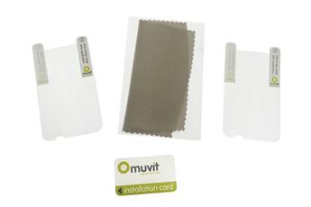 Protection d'écran pour smartphone Film de protection x2 HTC Wilfire S Muvit