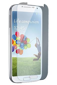 Protection d'écran pour smartphone Film de protection verre trempé Galaxy S4 Muvit