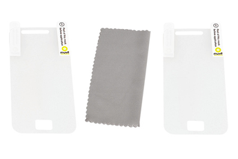 Protection d'écran pour smartphone PROTECTION x2 GALAXY ACE Muvit