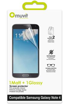 Protection d'écran pour smartphone PROTECTION D'ECRAN POUR GALAXY NOTE 4 Muvit