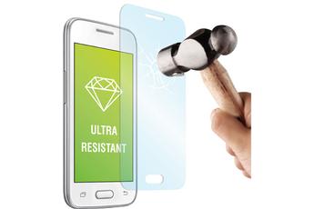 Protection d'écran pour smartphone PROTECTION D'ECRAN EN VERRE TREMPE POUR SAMSUNG GALAXY J1 Muvit